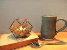 Lampion - Trójkąty i Kwadraty - GlassWoodMe - Lampiony