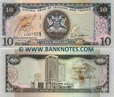 Trinidad and Tobago Money   Trinidad & Tobago Currency Gallery   Coins & Paper Money   Pinterest