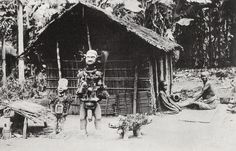 Nail fetish figures - Boma, Congo 1902