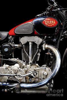 Gilera Vte Quattro Bulloni Motore 1 Photograph