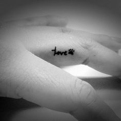 Small Finger Tattoo Ideas : theBERRY