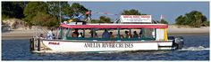 Amelia River Cruises and Cumberland Sound Ferry Service  #ameliaisland