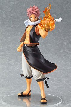 Fairy Tail statuette Natsu Dragneel Good Smile Company