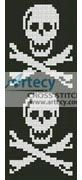 Pirate Bookmark Counted Cross Stitch Pattern http://www.artecyshop.com/index.php?main_page=product_info&cPath=26&products_id=1060