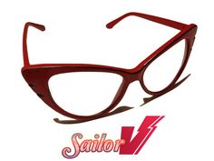 Sailor V Glasses from Sailor Moon Anime by MoonJusticeReplicas, $40.00