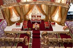 Grand Open Wedding Mandap