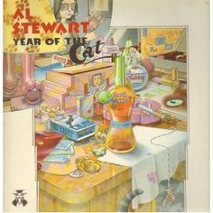 Album Cover Art - Al Stewart - Year of the Cat Greatest Album Covers, Classic Album Covers, Cool Album Covers, Music Covers, Top 100 Albums, Great Albums, Lp Cover, Cover Art, Vinyl Cover