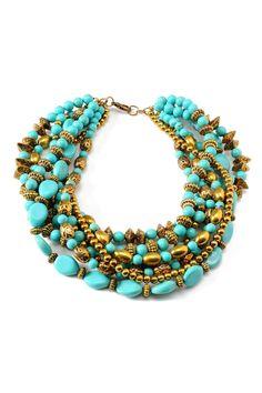 Amrita Singh Bohemian Bead Necklace