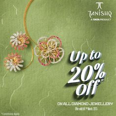 Steal the Show with Tanishq's Diamond Collection  Get Up-to 20% OFF on all #Diamond Collection from #Tanishq.  Shop Now:http://goo.gl/dl2J8f