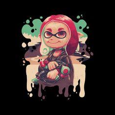 22dc15e5 Inkling Lisa Splatoon Men's T-Shirt by Geekydog - Cloud City 7 Funny Tee  Shirts