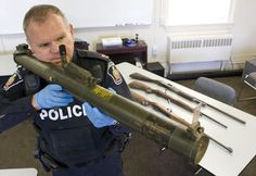 Seized rocket launcher
