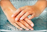 These are really great tips from webmd.com.  My nails are pretty fragile but these tips keep them nice and pretty enough that a clear coat of gel is all I ever need (if that). Pinned by BeautyUnrestricted.com