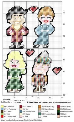 I LOVE LUCY CHIBIS Made by Myself in PC Design Studio. These can be for childrens play or magnets, or anything you choose. WARNING CHOKING HAZARD NOT RECOMMENDED FOR VERY YOUNG OR TEETHING CHILDREN.