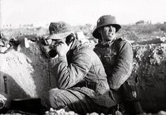 Stock Photo - events, Second World War / WWII, North Africa, German forward post with field telephone, circa 1941 German Soldiers Ww2, German Army, Afrika Corps, North African Campaign, Erwin Rommel, German Uniforms, Panzer, Armed Forces, World War Two