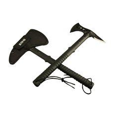 Tactique Tomahawk Hache Armée En Plein Air Chasse Axes pour la chasse Hatchet et machette multifonctionnel de survie hache pour camping DAA002