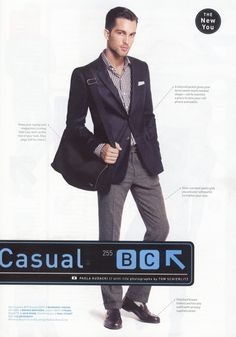 Business Casual - The New You (GQ) This is more like it!  Close-fitting = modern