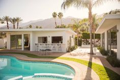 Image by Dream Mid Century Modern Compound via Airbnb