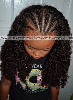 Beads, Braids and Beyond: cornrows African Hairstyles For Kids, Little Girl Hairstyles, Cute Hairstyles, Braided Hairstyles, Braids For Kids, Girls Braids, Kid Braid Styles, Kid Styles, Front Braids