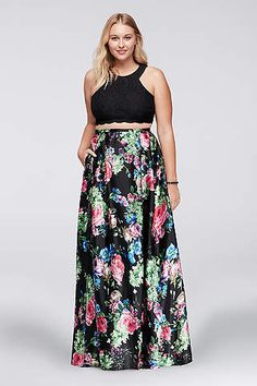 Two Piece and floral