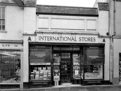 International Stores - Before Gateway and Key markets Totnes My Childhood Memories, Best Memories, Grow Up People, Tea Eggs, Time Of Your Life, On The High Street, The Old Days, Vintage Shops, Nostalgia