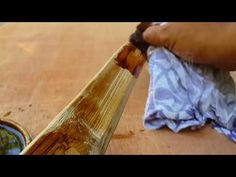 Cara sederhana finishing busur panah - bow bamboo - YouTube