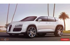 This Bugatti Veyron SUV Concept Makes Us Wonder, What if?