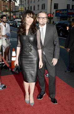 Katey Sagal and Kurt Sutter S6 SOA Premiere