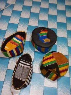 Hand weaved African Kufi Hats (6 count) - Wholesale only