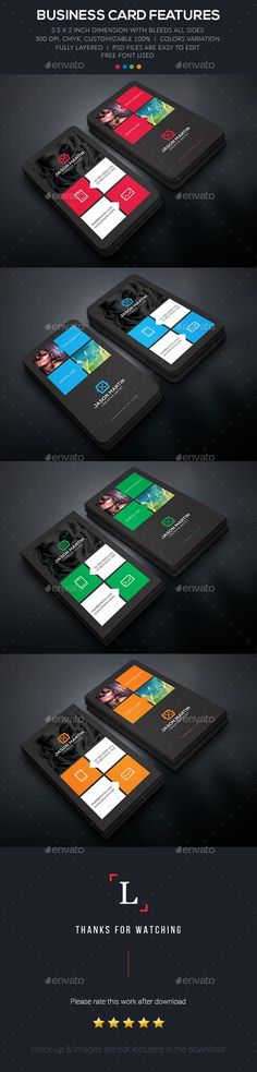 Photography Business Card — Photoshop PSD #designer #standard • Available here → https://graphicriver.net/item/photography-business-card/15686742?ref=pxcr