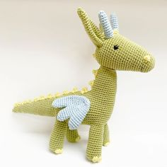 @_marybou has crocheted this adorable dragon toy using DMC Happy Cotton 🐲 Dmc Embroidery Floss, Embroidery Designs, Crochet Dragon, Flamingo Pattern, Dragon Crafts, Stationery Design, Color Card, Wool Yarn, Flower Patterns