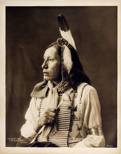 1899 photograph of James Red Cloud  (Mahpiya Luta), Oglala Lakota, grandson of famous chief, Red Cloud.  *s*