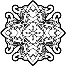 More Celtic Coloring Pages For Adults Knot Free