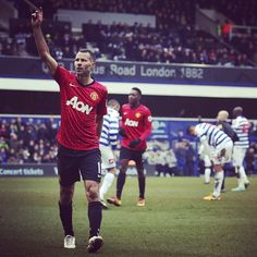 Ryan Giggs made his 999th career appearance when #mufc last played QPR, scoring his final Reds goal in a 2-0 away win in February 2013.