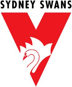 Sydney Swans Joined: 1982 Premierships: 2 (2005, 2012) Melbourne, Sydney, Australian Football League, Swan Logo, Sports Logos, Beer Pong, Swans, Balmain, Cheer