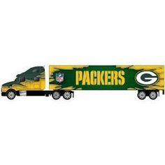 Green Bay Packers NFL 2009 1:80 Tractor Trailer Diecast by Press Pass  $10.99