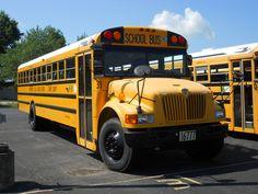 Old School Bus, School Buses, Football Cheerleaders, Cheerleading, Busses, Yellow, Buses, Cheer