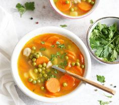 Borsóleves Thai Red Curry, Soup, Ethnic Recipes, Soups