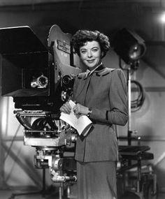A first woman film director, Ida Lupino.  ~Repinned via Yoshinori Murai http://www.tvrage.com/person/id-7323/Ida%2BLupino