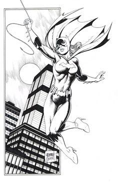 Batgirl - Grummett Comic Art