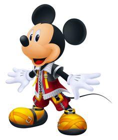 King Mickey - Kingdom Hearts