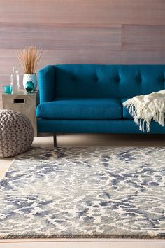 Dip dyed rug from surya