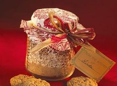 Oatmeal Toffee Cookies (Cookie Mix In A Jar)