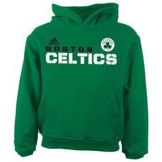 Boston Celtics adidas Toddler Clean Cut Hoodie - Kelly Green