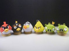 Quilling - 3D Angry Bird Family