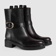 Gucci Leather ankle boot Detail 2