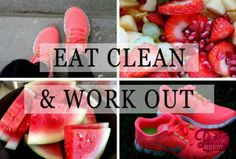 Eat clean and work out. It's as simple as that! #prettymuddy