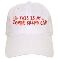 This Is My Zombie Killing Cap Cap