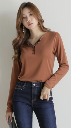 Korean Women`s Fashion Shopping Mall, Styleonme. Casual Work Outfits, Modern Outfits, Colourful Outfits, Classy Outfits, Korean Winter Outfits, Summer Outfits Women 20s, Girls Fashion Clothes, Fashion Outfits, Clothes For Women