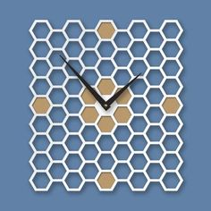 Orologio a muro quadrato