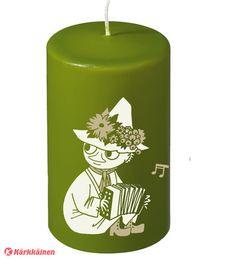 Moomin+7x12+cm+pöytäkynttilä+|+Karkkainen.com+verkkokauppa Tove Jansson, Pillar Candles